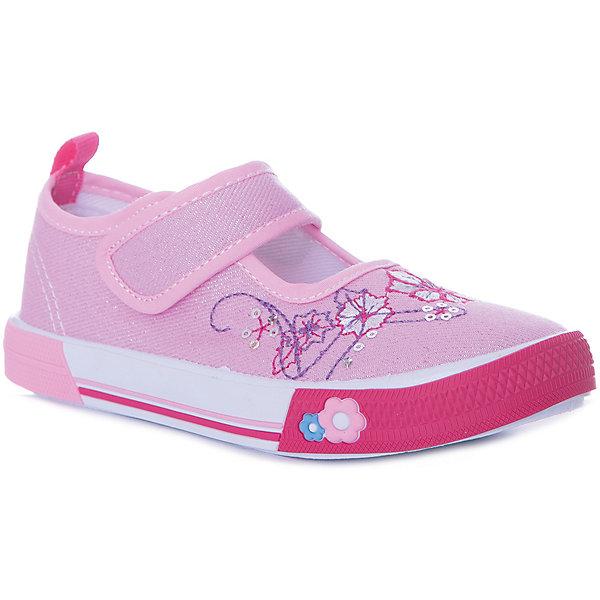 Туфли Mursu для девочкиТекстильные туфли<br>Характеристики товара:<br><br>• цвет: розовый;<br>• материал верха: текстиль;<br>• подклад: текстиль;<br>• стелька: натуральная кожа;<br>• подошва: ПВХ;<br>• сезон: лето;<br>• особенности модели: цветочный принт;<br>• застежка: эластичная резинка;<br>• петелька на заднике;<br>• анатомические;<br>• страна бренда: Финляндия<br><br><br>Текстильные туфли Mursu можно использовать как сменную в детском саду, так и для прогулок в сухую погоду. Удобная форма позволяет быстро надеть и снять обувь. Модель выполнена в ярком розовом цвете, а красивый вышитый принт неприменно порадует вашу малышку.<br><br>Обувь Мурсу - это качественная финская продукция, которая помогает детям выглядеть модно и чувствовать себя удобно.<br><br>Текстильные туфли для девочки Mursu можно купить в нашем интернет-магазине.<br>Ширина мм: 227; Глубина мм: 145; Высота мм: 124; Вес г: 325; Цвет: розовый; Возраст от месяцев: 15; Возраст до месяцев: 18; Пол: Женский; Возраст: Детский; Размер: 22,27,26,25,24,23; SKU: 7722246;