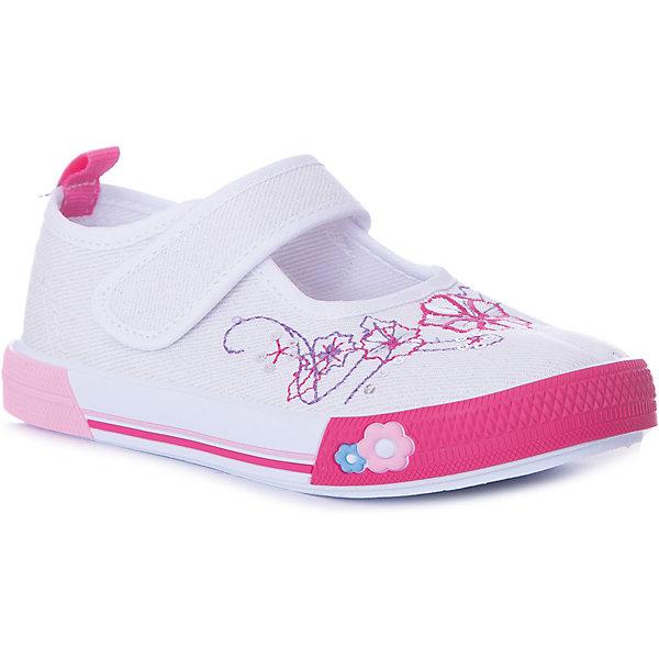 Туфли Mursu для девочкиТекстильные туфли<br>Характеристики товара:<br><br>• цвет: белый,розовый;<br>• материал верха: текстиль;<br>• подклад: текстиль;<br>• стелька: натуральная кожа;<br>• подошва: ПВХ;<br>• сезон: лето;<br>• особенности модели: цветочный принт;<br>• застежка: эластичная резинка;<br>• петелька на заднике;<br>• анатомические;<br>• страна бренда: Финляндия.<br><br>Текстильные туфли Mursu можно использовать как сменную в детском саду, так и для прогулок в сухую погоду. Удобная форма позволяет быстро надеть и снять обувь. Модель выполнена в нарядном белом цвете, а красивый вышитый принт неприменно порадует вашу малышку.<br><br>Обувь Мурсу - это качественная финская продукция, которая помогает детям выглядеть модно и чувствовать себя удобно.<br><br>Текстильные туфли для девочки Mursu можно купить в нашем интернет-магазине.<br>Ширина мм: 227; Глубина мм: 145; Высота мм: 124; Вес г: 325; Цвет: бежевый; Возраст от месяцев: 15; Возраст до месяцев: 18; Пол: Женский; Возраст: Детский; Размер: 22,23,24,25,26,27; SKU: 7722253;