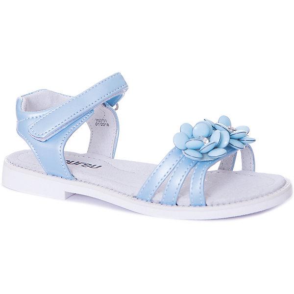 MURSU Босоножки Mursu для девочки босоножки для девочки mursu цвет белый 208403 размер 35