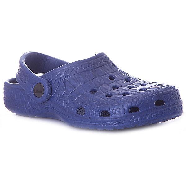 Сабо Mursu для мальчикаПляжная обувь<br>Характеристики товара:<br><br>• цвет: темно-синий;<br>• внешний материал: ЭВА;<br>• внутренний материал: ЭВА;<br>• стелька: ЭВА;<br>• подошва: ЭВА;<br>• сезон: лето;<br>• облегчённая модель;<br>• подходит для пляжа;<br>• подходит для занятий в бассейне;<br>• отверстия для вентиляции;<br>• закрытый нос;<br>• устойчивая подошва;<br>• страна бренда: Финляндия.<br><br>Удобные кроксы Mursu незаменимы для пляжного сезона. Легкая модель полностью выполнена из качественного полимерного материала. У кроксов имеется подвижный ремешок с пластиковыми кнопками. Большое количество дырочек в верхней части обуви обеспечивает вентиляцию ноги. <br><br>Пляжная обувь финского бренда Mursu - это отличный вариант правильной и красивой детской обуви!<br><br>Пляжную обувь Mursu для мальчика можно купить в нашем интернет-магазине.<br>Ширина мм: 225; Глубина мм: 139; Высота мм: 112; Вес г: 290; Цвет: синий; Возраст от месяцев: 21; Возраст до месяцев: 24; Пол: Мужской; Возраст: Детский; Размер: 24,29,28,27,26,25; SKU: 7723192;