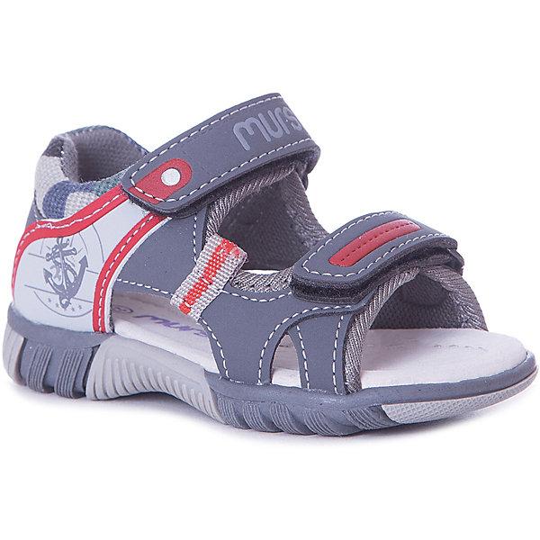 MURSU Сандалии Mursu для мальчика сандалии для мальчика mursu цвет голубой 208619 размер 32
