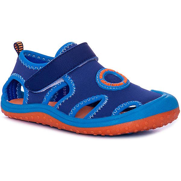 MURSU Сандалии Mursu для мальчика кроссовки для мальчика mursu цвет синий голубой 208006 размер 35