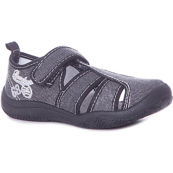 Сандалии Mursu для мальчикаТекстильные туфли<br>Характеристики товара:<br><br>• цвет: серый<br>• материал верха: текстиль<br>• подклад: текстиль<br>• стелька: натуральная кожа<br>• подошва: ПВХ<br>• сезон: лето<br>• особенности модели: спортивный стиль<br>• застежка: липучка<br>• защита мыса<br>• анатомические<br>• страна бренда: Финляндия<br><br><br>Текстильную обувь Mursu можно использовать как сменную в детском саду, так и для прогулок в сухую погоду. Удобная форма позволяет быстро надеть и снять обувь. Модель выполнена в практичном сером цвете, который локонично дополнит образ.<br><br>Обувь Мурсу - это качественная финская продукция, которая помогает детям выглядеть модно и чувствовать себя удобно.<br><br>Текстильную обувь для мальчика Mursu можно купить в нашем интернет-магазине.<br>Ширина мм: 219; Глубина мм: 154; Высота мм: 121; Вес г: 343; Цвет: серый; Возраст от месяцев: 36; Возраст до месяцев: 48; Пол: Мужской; Возраст: Детский; Размер: 27,32,31,30,29,28; SKU: 7723559;