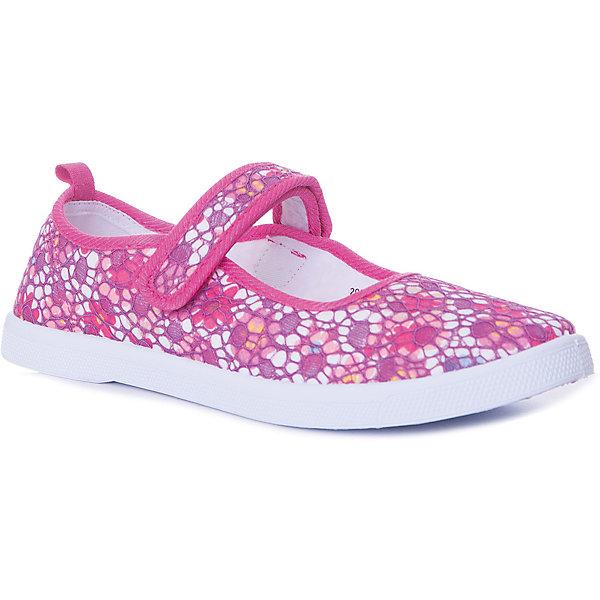 Туфли Mursu для девочкиТекстильные туфли<br>Характеристики товара:<br><br>• цвет: розовый принт<br>• материал верха: текстиль<br>• подклад: текстиль<br>• стелька: натуральная кожа<br>• подошва: ПВХ<br>• сезон: лето<br>• особенности модели: цветочный принт<br>• застежка: эластичная резинка<br>• анатомические<br>• страна бренда: Финляндия<br><br><br>Текстильные туфли Mursu можно использовать как сменную в детском саду, так и для прогулок в сухую погоду. Удобная форма позволяет быстро надеть и снять обувь. А красивый цветочный принт неприменно порадует вашу малышку.<br><br>Обувь Мурсу - это качественная финская продукция, которая помогает детям выглядеть модно и чувствовать себя удобно.<br><br>Текстильные туфли для девочки Mursu можно купить в нашем интернет-магазине.<br>Ширина мм: 227; Глубина мм: 145; Высота мм: 124; Вес г: 325; Цвет: розовый; Возраст от месяцев: 96; Возраст до месяцев: 108; Пол: Женский; Возраст: Детский; Размер: 32,37,36,35,34,33; SKU: 7723629;