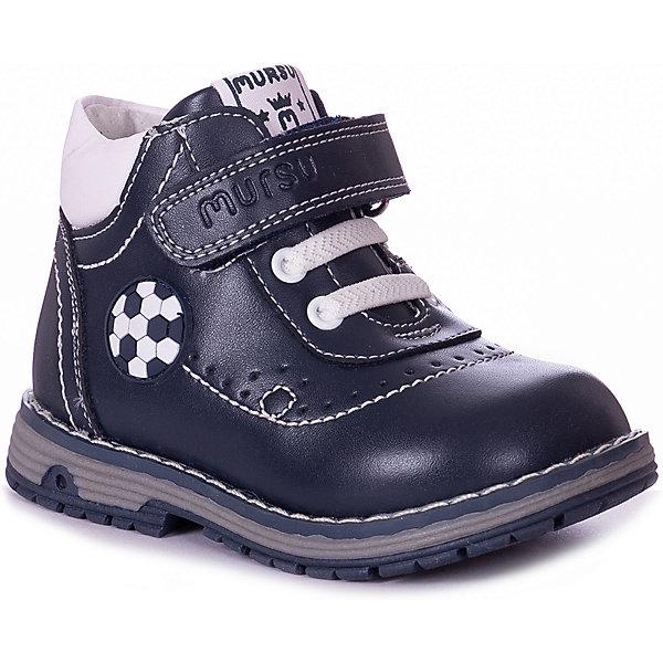 MURSU Ботинки Mursu для мальчика ботинки для мальчика mursu цвет черный 205722 размер 27