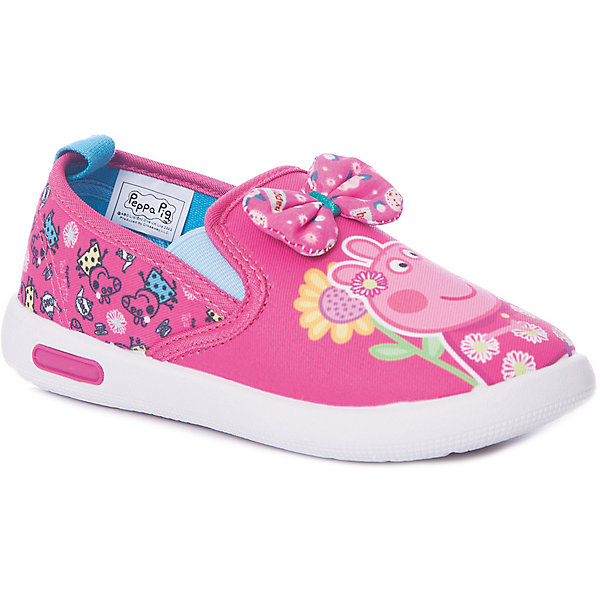 KAKADU Слипоны Kakadu Peppa Pig для девочки сумки для детей свинка пеппа peppa pig рюкзачок малый superstar