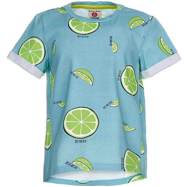 Фотография товара футболка Button Blue для девочки (7744963)