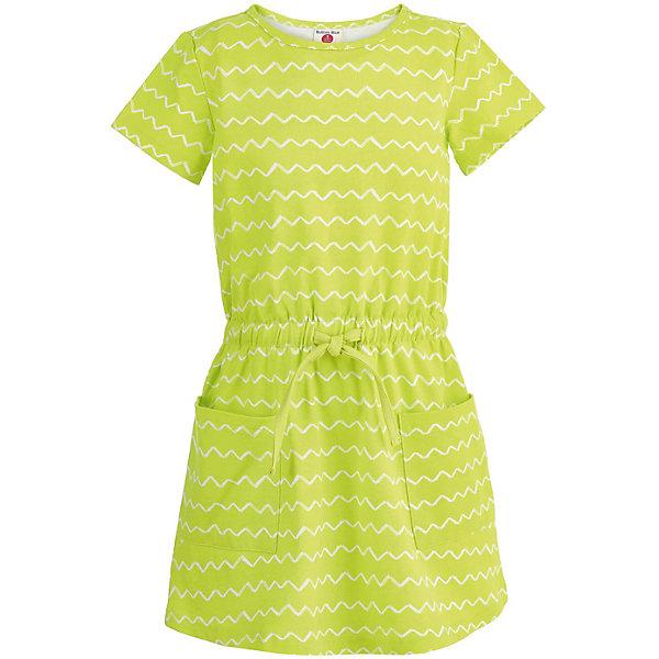 Платье Button Blue для девочкиПлатья и сарафаны<br>Характеристики товара:<br><br>• цвет: зеленый<br>• состав ткани: 95% хлопок, 5% эластан<br>• сезон: лето<br>• короткие рукава<br>• страна бренда: Россия<br><br>Летнее платье для ребенка от популярного бренда Button Blue выполнено в приятной расцветке. Материал этого детского платья - легкий хлопок, который создает комфортные условия для тела. Такое платье для детей отличается модным кроем.<br><br>Платье Button Blue (Баттон Блю) для девочки можно купить в нашем интернет-магазине.<br>Ширина мм: 236; Глубина мм: 16; Высота мм: 184; Вес г: 177; Цвет: зеленый; Возраст от месяцев: 108; Возраст до месяцев: 120; Пол: Женский; Возраст: Детский; Размер: 140,98,158,152,146,134,128,122,116,110,104; SKU: 7745275;