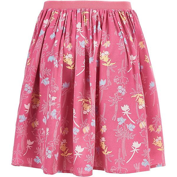 Юбка Button Blue для девочкиЮбки<br>Характеристики товара:<br><br>• цвет: розовый<br>• состав ткани: 100% вискоза<br>• сезон: лето<br>• талия: резинка, шнурок<br>• страна бренда: Россия<br><br>Розовая легкая юбка для детей выполнена из легкой принтованной ткани. Эта юбка для ребенка от известного бренда Button Blue отличается свободным силуэтом. Такая детская юбка, как и другие модели одежды для ребенка от Button Blue - качественная стильная вещь по доступной цене. <br><br>Юбку Button Blue (Баттон Блю) для девочки можно купить в нашем интернет-магазине.<br>Ширина мм: 207; Глубина мм: 10; Высота мм: 189; Вес г: 183; Цвет: розовый; Возраст от месяцев: 72; Возраст до месяцев: 84; Пол: Женский; Возраст: Детский; Размер: 122,158,152,146,140,134,128,116,110,104,98; SKU: 7745358;