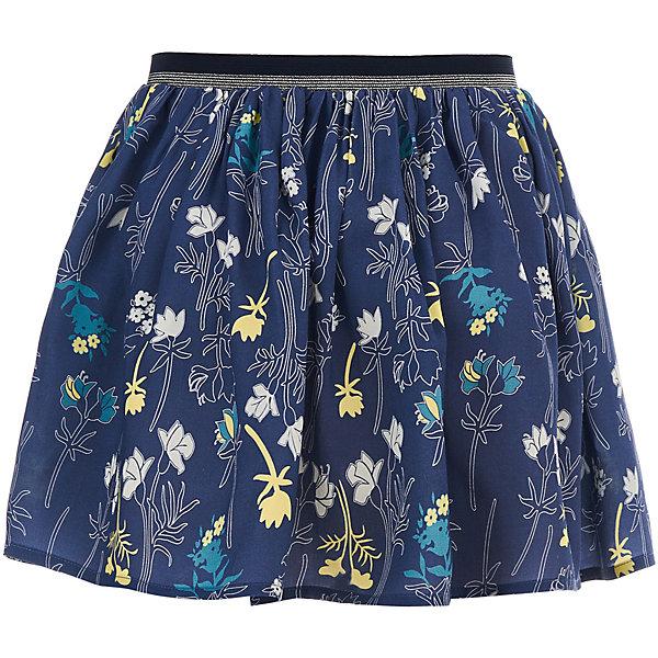 Юбка Button Blue для девочкиЮбки<br>Характеристики товара:<br><br>• цвет: синий<br>• состав ткани: 100% вискоза<br>• сезон: лето<br>• талия: резинка, шнурок<br>• страна бренда: Россия<br><br>Легкая детская юбка сделана из принтованной вискозы, которая отлично подходит для теплой погоды. Модная юбка для ребенка от популярного бренда Button Blue выполнена в универсальном цвете. Эта юбка для детей отличается популярным в наступающем сезоне силуэтом.<br><br>Юбку Button Blue (Баттон Блю) для девочки можно купить в нашем интернет-магазине.<br>Ширина мм: 207; Глубина мм: 10; Высота мм: 189; Вес г: 183; Цвет: темно-синий; Возраст от месяцев: 24; Возраст до месяцев: 36; Пол: Женский; Возраст: Детский; Размер: 98,158,152,146,140,134,128,122,116,110,104; SKU: 7745370;