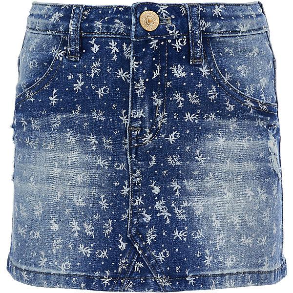 Купить со скидкой Юбка джинсовая Button Blue для девочки