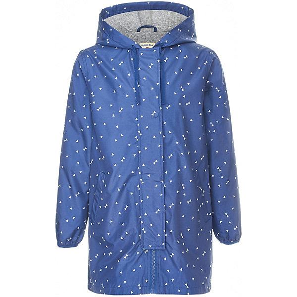 Куртка удлиненная Button Blue для девочкиВерхняя одежда<br>Характеристики товара:<br><br>• цвет: синий<br>• состав ткани: 100% полиэстер<br>• подкладка: 100% хлопок<br>• утеплитель: нет<br>• сезон: демисезон<br>• особенности модели: с капюшоном<br>• застежка: молния<br>• длинные рукава<br>• страна бренда: Россия<br><br>Синяя ветровка для ребенка от популярного бренда Button Blue выполнена в приятном цвете. Куртка для детей удобно застегивается на молнию. Такая детская куртка удлиненного силуэта сделана из легкого материала и качественной фурнитуры. <br><br>Куртку Button Blue (Баттон Блю) для девочки можно купить в нашем интернет-магазине.<br>Ширина мм: 356; Глубина мм: 10; Высота мм: 245; Вес г: 519; Цвет: темно-синий; Возраст от месяцев: 132; Возраст до месяцев: 144; Пол: Женский; Возраст: Детский; Размер: 152,146,104,140,98,134,128,122,116,110,158; SKU: 7745776;
