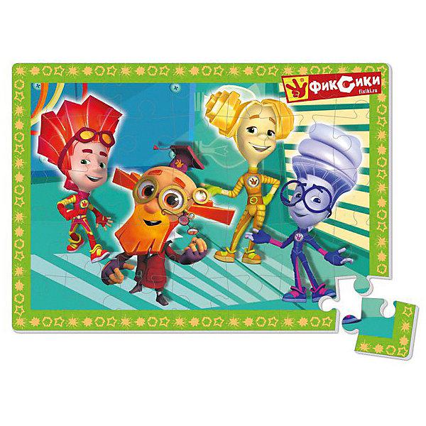 Vladi Toys Мягкие пазлы в коробке Фиксики Нолик vladi toys мягкие пазлы мася фиксики vladi toys