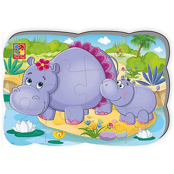 Пазлы на магните Мои первые игры БегемотПазлы для малышей<br>Характеристики:<br><br>• возраст: от 2 лет;<br>• материал: вспененный полимер, магнит;<br>• количество деталей: 12;<br>• формат собранного пазла: А5;<br>• размер упаковки: 0,4х18х30,5 см;<br>• вес упаковки: 65 гр.;<br>• страна бренда: Украина.<br><br>Пазл на магните Мои первые игры «Бегемот» от компании Vladi Toys можно собирать на разных металлических поверхностях или использовать как обычный мягкий пазл.<br><br>Объемные детали из вспененного полимера отлично переносят механическое воздействие. Материал безопасен для ребенка, его текстура приятна на ощупь.<br><br>Детали пазла легко соединяются между собой. Сборка изображения развивает внимательность и логическое мышление. Готовую картинку можно повесить на холодильник.<br><br>Пазлы на магните Мои первые игры «Бегемот» можно купить в нашем интернет-магазине.<br>Ширина мм: 4; Глубина мм: 180; Высота мм: 305; Вес г: 65; Возраст от месяцев: 24; Возраст до месяцев: 48; Пол: Унисекс; Возраст: Детский; SKU: 7748264;