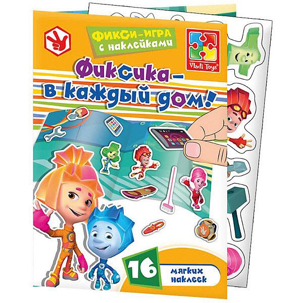 Vladi Toys Набор с мягкими наклейками Фиксики цена и фото