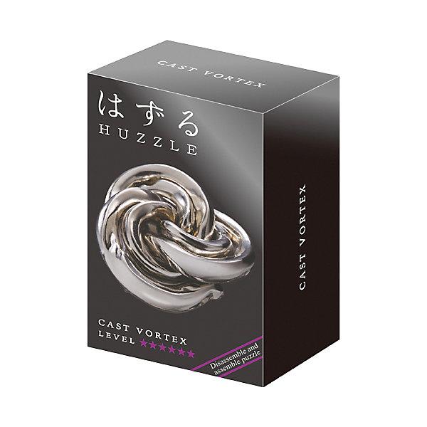 Головоломка Huzzle Cast ВортексКлассические головоломки<br>Характеристики товара:<br><br>• возраст: от 8 лет;<br>• материал: металл;<br>• уровень сложности: 6;<br>• размер упаковки: 12х7,5х4,5 см;<br>• вес упаковки: 154 гр.;<br>• страна бренда: Япония.<br><br>Головоломка Huzzle Cast Вортекс - это занимательное и интересное занятие для детей и взрослых, которое способствует развитию пространственного мышления, усидчивости, внимания, требует смекалки и сообразительности.<br><br>Смысл головоломки заключается в том, чтобы разделить детали головоломки, а затем снова соединить их. На первый взгляд может показаться, что это очень просто, но на самом деле здесь есть небольшой подвох. Поэтому новички должны быть крайне осторожны, и не пытаться применить силу, чтобы не повредить головоломку.<br><br>Головоломка Huzzle Cast Вортекс можно купить в нашем интернет-магазине.<br>Ширина мм: 75; Глубина мм: 45; Высота мм: 120; Вес г: 138; Возраст от месяцев: 96; Возраст до месяцев: 2147483647; Пол: Унисекс; Возраст: Детский; SKU: 7749402;