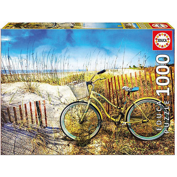 Educa Пазл Educa 1000 деталей Велосипед в дюнах велосипед khs alite 1000 2016