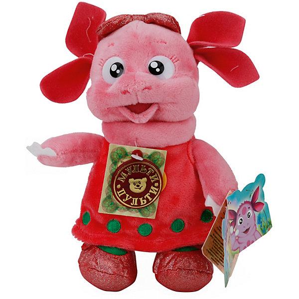 Мульти-Пульти Мягкая игрушка Луня подружка Лунтика (м/ф Лунтик), 18 см, озвученная