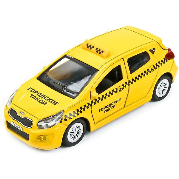 Машина Kia Ceed такси 12  см металл. инерц., открыв. двери и багажник.Машинки<br>Характеристики товара:<br><br>• возраст: от 3 лет;<br>• размер упаковки: 18x7x13 см.;<br>• вес: 170 гр.;<br>• размер машинки: 12 см.;<br>• из чего сделана игрушка (состав): пластик, металл;<br>• упаковка: картонная коробка.<br><br>Машинка является миниатюрной копией автомобиля «Kia Ceed такси», который используется на службе в городском такси.<br><br>На это указывают соответствующие надписи на кузове, шашечки и характерные желто-черные цвета.<br><br>Машинка оснащена вращающимися колесами и инерционным механизмом, поэтому может самостоятельно проезжать небольшое расстояние, если ее подтолкнуть.<br><br>Двери и багажник игрушки открываются, позволяя рассмотреть реалистичный салон и разнообразить сюжет игры.<br><br>Машину «Kia Ceed такси» можно купить в нашем интернет-магазине.<br>Ширина мм: 180; Глубина мм: 70; Высота мм: 130; Вес г: 170; Цвет: желтый; Возраст от месяцев: 36; Возраст до месяцев: 96; Пол: Мужской; Возраст: Детский; SKU: 7754748;