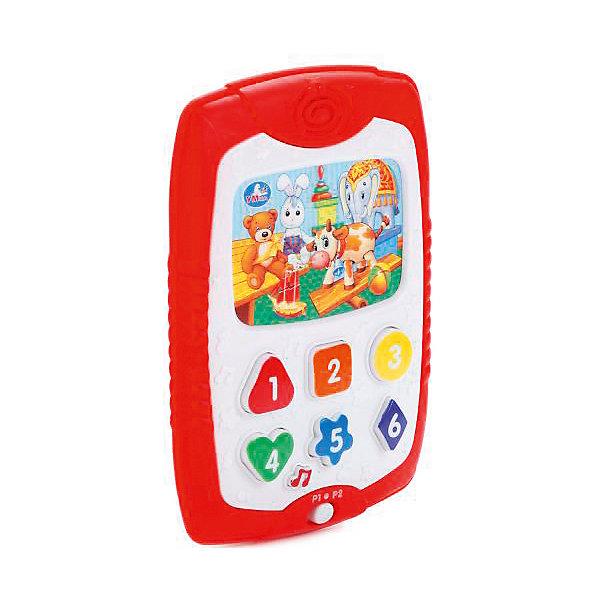 Умка Развивающая игрушка-планшет со светом и звуком (стихи и песни на стихи А. Барто).