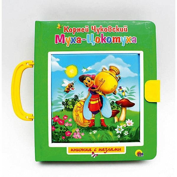 Купить Книжка с пазлами. Муха-Цокотуха., Проф-Пресс, Россия, Унисекс