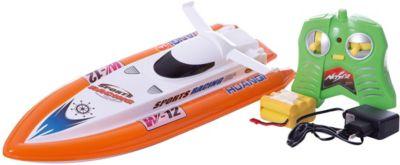 Катер HuanQi на радиоуправлении,оранжевый, артикул:7757333 - Радиоуправляемые игрушки