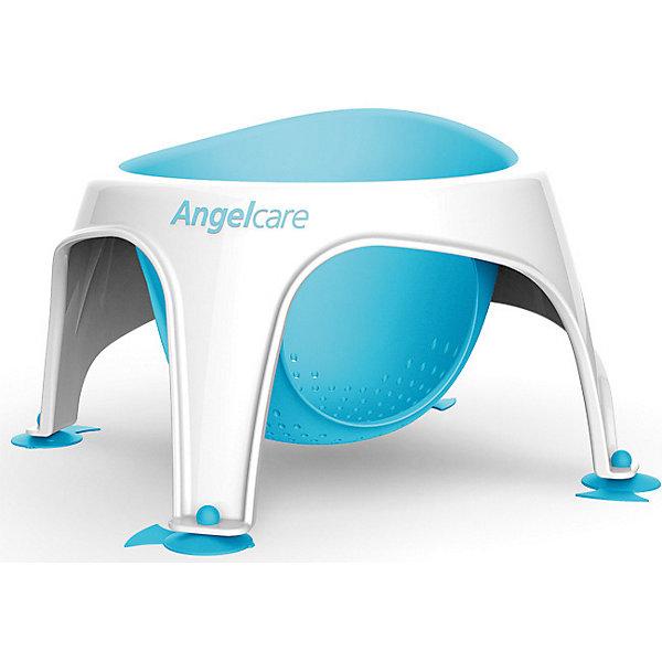 Сидение для купания AngelCare Bath ring, голубоеТовары для купания<br>Характеристики:<br><br>• сидение для купания малышей старше полугода;<br>• эргономичная форма;<br>• сетчатая силиконовая вставка;<br>• антибактериальные свойства поверхности сидения;<br>• 4 ножки на присосках;<br>• система антискольжения;<br>• цвет: голубой;<br>• материал: пластик, силикон;<br>• размер упаковки: 35х35х30 см;<br>• вес: 750 г.<br><br>Сидение для купания представляет собой креслице на ножках с силиконовой вставкой-сиденьем. Крепится с помощью присосок. Ребенок во время купания сидит в креслице, безопасно плещется и играет. Сидение легко сушится.<br><br>Сидение для купания AngelCare «Bath ring», голубое можно купить в нашем интернет-магазине.<br>Ширина мм: 350; Глубина мм: 350; Высота мм: 300; Вес г: 750; Цвет: голубой; Возраст от месяцев: 72; Возраст до месяцев: 144; Пол: Унисекс; Возраст: Детский; SKU: 7760085;
