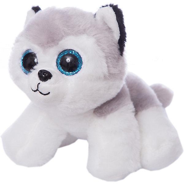 ABtoys Мягкая игрушка Abtoys Собачка хаски, 15 см