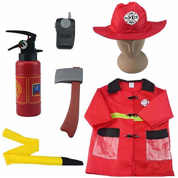 Академия игр Игровой набор Важная работа Форма пожарного, 7 предметов с аксессуарами