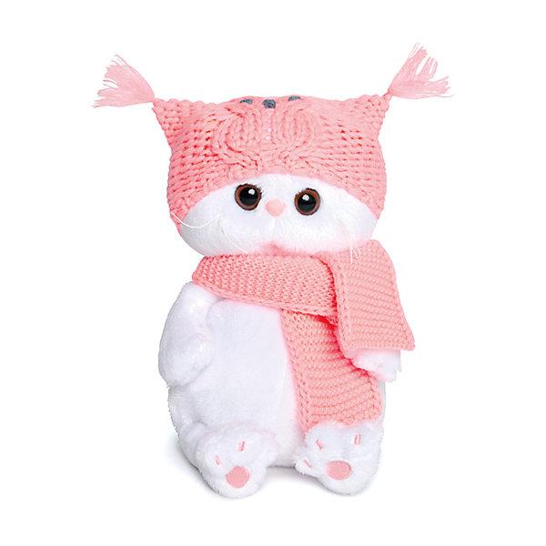 Budi Basa Мягкая игрушка Кошечка Ли-Ли Baby в шапке-сова и шарфе, 20 см