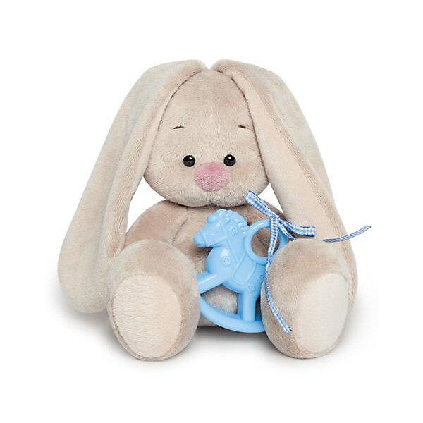 Budi Basa Мягкая игрушка Budi Basa Зайка Ми с голубой лошадкой, 15 см budi basa мягкая игрушка budi basa зайка ми в голубой пижаме 23 см