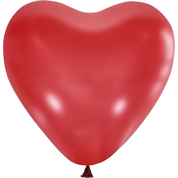 Latex Occidental Воздушные шары Сердце 50 шт., пастель