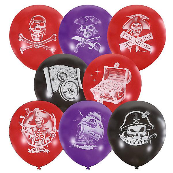 Latex Occidental Воздушные шары Пираты 12/30 см, 50 шт