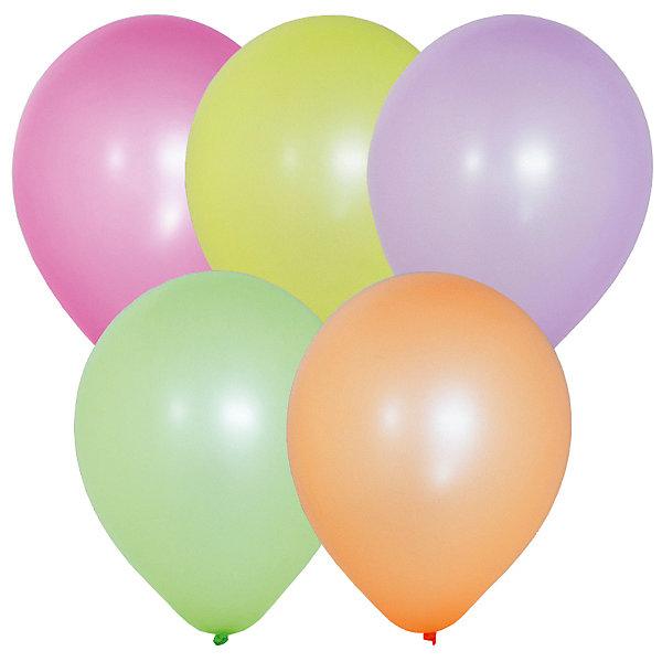 Latex Occidental Воздушные шары Флуоресцентные 100 шт, 10/25 см