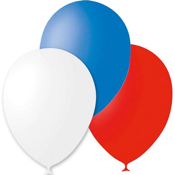 Latex Occidental Воздушные шары Триколор 30 шт., пастель