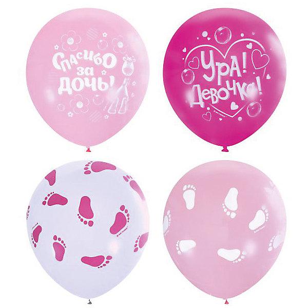 Воздушные шары К рождению девочки 25 шт 12/30 смВоздушные шары<br>Характеристики:<br><br>• тип товара: воздушные шары;<br>• возраст: от 3 лет;<br>• цвет: ассорти;<br>• комплектация: 25 шт;<br>• размер: 30 см;<br>• материал: латекс;<br>• вес: 80 гр;<br>• размер: 15х10х2 см;<br>• страна бренда: Мексика;<br>• бренд: Latex Occidental.<br><br>Воздушные шары К рождению девочки 25 шт 12/30 см, серии Пастель + Декоратор (шелковая печать) станут обязательным атрибутом любого праздника. Эти воздушные шары из натурального латекса с двусторонней печатью методом шелкографии. В упаковке собраны шарики с тремя разными рисунками к рождению девочки.<br><br>Все шарики розовых оттенков палитры «пастель» и «декоратор». Воздушные шары производства Латекс Оксидентл отличаются эластичным латексом и равномерным окрасом шара. Очень удобны в оформлении благодаря растягивающемуся хвостику.<br><br>Воздушные шары К рождению девочки 25 шт 12/30 см, серии Пастель + Декоратор (шелковая печать) можно купить в нашем интернет-магазине.<br>Ширина мм: 150; Глубина мм: 100; Высота мм: 20; Вес г: 80; Возраст от месяцев: 36; Возраст до месяцев: 2147483647; Пол: Женский; Возраст: Детский; SKU: 7771247;