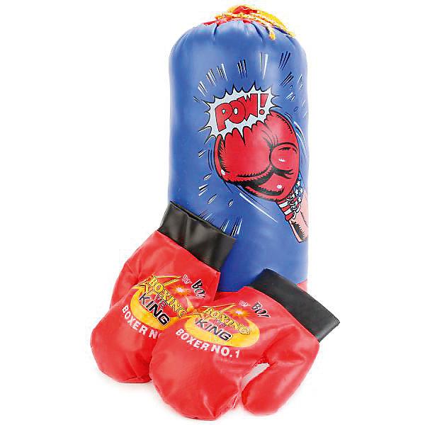 Играем вместе Набор для бокса Играем вместе (груша+перчатки)