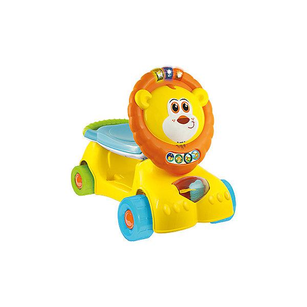 WinFun Самокат-лев для малышей 3-в-1