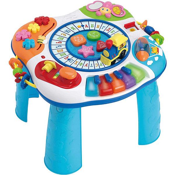 Фото - WinFun Развивающий столик WinFun с буквами и пианино развивающие игрушки winfun телефон музыкальный развивающий