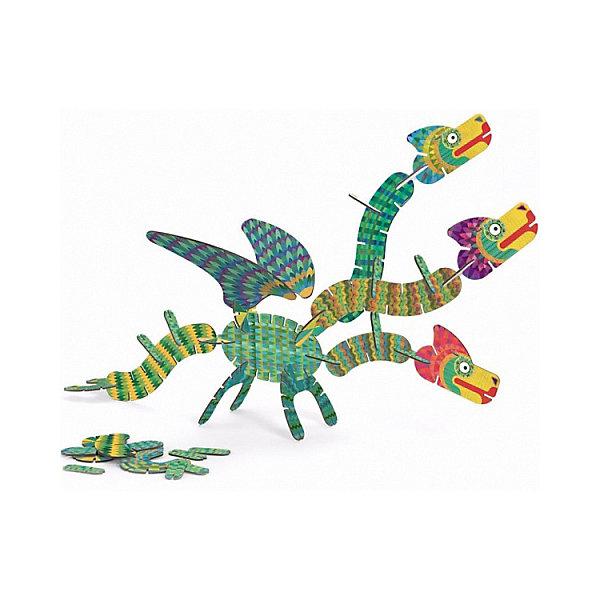 DJECO 3D-пазл Djeco Дракон, 65 элементов