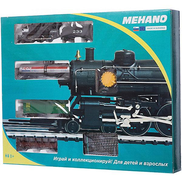 Mehano Стартовый набор Mehano Hobby Pan American, с 3 вагонами игрушка mehano 2 f102 набор рельс