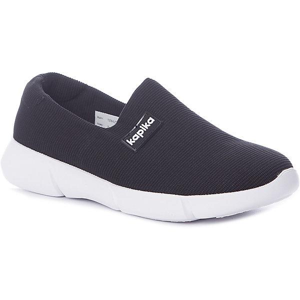 Kapika Кроссовки Kapika для девочки кроссовки для девочки м д цвет черный 8988 1 размер 32