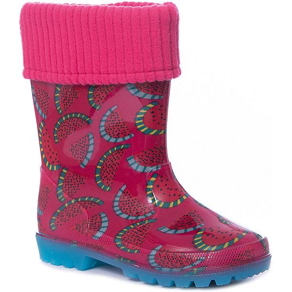 Резиновые сапоги Kapika для девочкиРезиновые сапоги<br>Характеристики товара:<br><br>• цвет: красный<br>• материал верха: ПВХ<br>• внутренний материал: текстиль <br>• стелька: текстиль <br>• подошва: ПВХ<br>• сезон: демисезон<br>• температурный режим: от 0 до +20<br>• съемный внутренний сапожок<br>• непромокаемые<br>• подошва не скользит <br>• анатомические <br>• страна бренда: Россия<br><br>Яркие резиновые сапоги для детей от Kapika - отличный вариант качественной обуви по доступной цене. Детскую обувь от бренда Kapika уже успели оценить многие российские потребители, она удобная, красивая и разработанная специально для детей. Непромокаемый материал этих детских резиновых сапог делает их комфортной обувью для мокрой погоды. <br><br>Резиновые сапоги Kapika (Капика) для девочки можно купить в нашем интернет-магазине.<br>Ширина мм: 237; Глубина мм: 180; Высота мм: 152; Вес г: 438; Цвет: розовый; Возраст от месяцев: 24; Возраст до месяцев: 24; Пол: Женский; Возраст: Детский; Размер: 25,30,29,28,27,26; SKU: 7787808;
