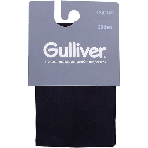 Купить Колготки Gulliver для девочки, Италия, черный, Женский