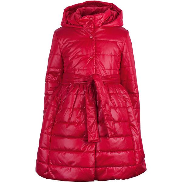 Пальто Gulliver для девочкиПальто и плащи<br>Характеристики товара:<br><br>• цвет: красный;<br>• состав ткани: 100% полиэстер;<br>• подкладка: 100% хлопок;<br>• утеплитель: 100% полиэстер;<br>• сезон: демисезон;<br>• температурный режим: от 0 до +10С;<br>• застёжка: кнопки;<br>• пальто с капюшоном;<br>• высокий воротник;<br>• трикотажная подкладка;<br>• поясок в комплекте;<br>• два кармана на молнии;<br>• коллекция: Коралловый остров;<br>• страна бренда: Россия.<br><br>Стильное пальто с капюшоном– изделие из разряда must have! Качественная водоотталкивающая плащевка защитит ребенка от дождливой погоды. Яркий красный цвет создаст позитивный настрой. Подкладка из мягкого трикотажа подарит мягкость и уют. Оно создаст отличное настроение, сделав весенний гардероб ребенка ярким, свежим, интересным.<br><br>Пальто Gulliver (Гулливер) можно купить в нашем интернет-магазине.<br>Ширина мм: 356; Глубина мм: 10; Высота мм: 245; Вес г: 519; Цвет: красный; Возраст от месяцев: 24; Возраст до месяцев: 36; Пол: Женский; Возраст: Детский; Размер: 98,116,110,104; SKU: 7789006;