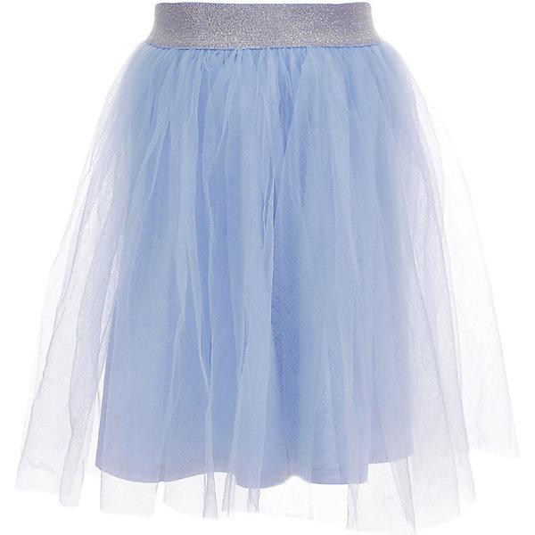 Юбка Gulliver для девочкиОдежда<br>Характеристики товара:<br><br>• цвет: голубой;<br>• состав ткани: 100% нейлон;<br>• подкладка: 95% хлопок, 5% эластан<br>• сезон: лето;<br>• застёжка: юбка на резинке;<br>• длина: миди;<br>• резинка контрастного цвета;<br>• верх из сетки;<br>• коллекция: Мокко;<br>• страна бренда: Россия.<br><br>Юбка-пачка, юбка-балерина... Легкая воздушная юбка - идеальный вариант и на каждый день, и для торжественного случая. Она прекрасно сочетается с майкой, футболкой, топом, составляя элегантный комплект. Если вы решили привнести в летний гардероб ребенка что-то новое и сделать девочке по-настоящему желанный подарок, вам стоит купить детскую юбку из сетки. Она подарит комфорт, свободу движений, а также подчеркнет изящество и грациозность своей обладательницы.<br><br>Юбку Gulliver (Гулливер) можно купить в нашем интернет-магазине.<br>Ширина мм: 207; Глубина мм: 10; Высота мм: 189; Вес г: 183; Цвет: голубой; Возраст от месяцев: 72; Возраст до месяцев: 84; Пол: Женский; Возраст: Детский; Размер: 122,140,134,128; SKU: 7789334;