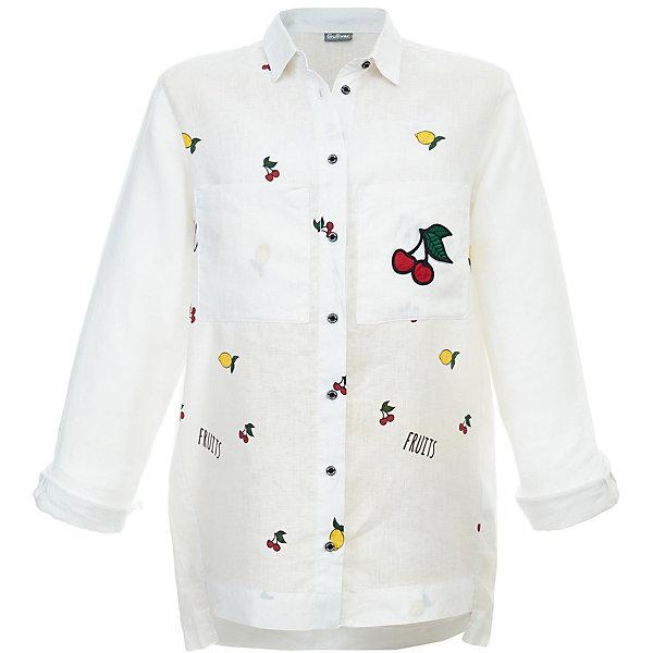 Купить Блузка Gulliver для девочки, Китай, белый, Женский
