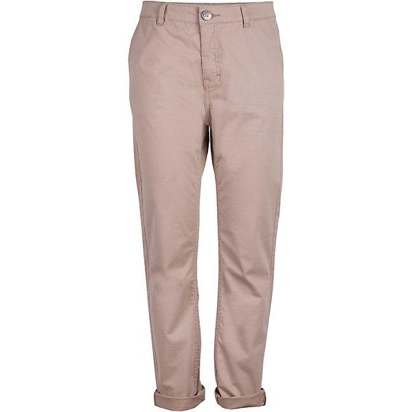 Брюки Gulliver для мальчикаБрюки<br>Брюки Gulliver для мальчика<br>Шикарный вариант для весны - модные бежевые брюки для мальчика! Благородный цвет, современный крой, правильная посадка изделия на фигуре делают брюки ярким элементом образа. С любой футболкой, рубашкой, пиджаком, они составят отличный комплект - модный и элегантный.<br>Состав:<br>98% хлопок      2% эластан<br>Ширина мм: 215; Глубина мм: 88; Высота мм: 191; Вес г: 336; Цвет: бежевый; Возраст от месяцев: 156; Возраст до месяцев: 168; Пол: Мужской; Возраст: Детский; Размер: 164,158,152,146; SKU: 7790228;