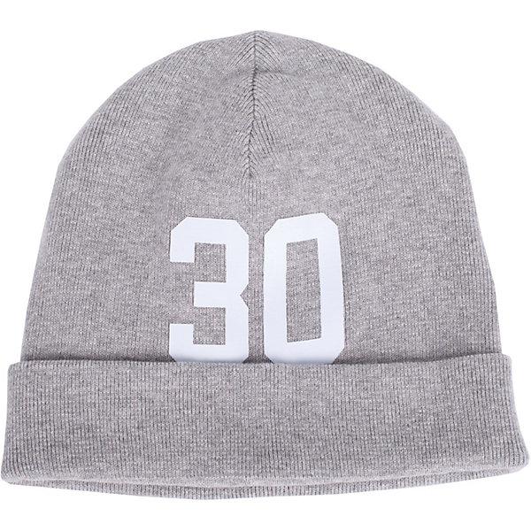 Шапка Gulliver для мальчикаГоловные уборы<br>Характеристики товара:<br><br>• цвет: серый;<br>• состав ткани: 100% хлопок;<br>• без подкладки;<br>• сезон: демисезон;<br>• вязаная шапка;<br>• шапка с цифровым принтом;<br>• коллекция: 3D Клуб;<br>• страна бренда: Россия.<br><br>Стильная вязаная шапка дополнит повседневный образ ребенка. Мягкая, легкая, комфортная, серая шапка отлично разместится в кармане ветровки или жилетки, чтобы в любой момент защитить подростка от непогоды и ветра.<br><br>Шапку Gulliver (Гулливер) можно купить в нашем интернет-магазине.<br>Ширина мм: 89; Глубина мм: 117; Высота мм: 44; Вес г: 155; Цвет: серый; Возраст от месяцев: 120; Возраст до месяцев: 132; Пол: Мужской; Возраст: Детский; Размер: 54,56; SKU: 7790342;