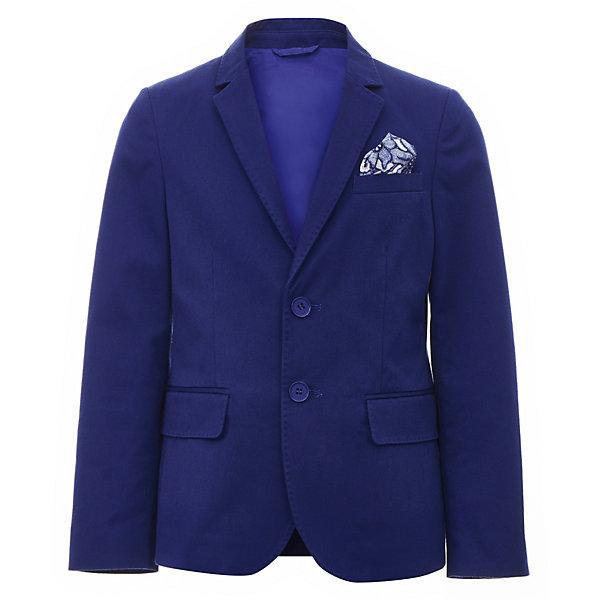 Пиджак Gulliver для мальчикаПиджаки и костюмы<br>Характеристики товара:<br><br>• цвет: синий;<br>• состав ткани: 61% хлопок, 39% полиэстер;<br>• подкладка: 50% вискоза, 50% полиэстер;<br>• сезон: круглый год;<br>• застёжка: пуговицы;<br>• манжеты рукавов на пуговицах;<br>• пиджак на подкладке;<br>• нарядный пиджак;<br>• три кармана;<br>• коллекция: Ницца;<br>• страна бренда: Россия.<br><br>В преддверии весенних праздников, выпускных мероприятий, дней рождения или выхода в свет по другому приятному поводу, купить детский пиджак для мальчика становится для мамы острой необходимостью. Синий пиджак выполнен в лучших традициях Gulliver! Прекрасная форма, идеальная посадка изделия на фигуру, взрослая внутренняя обработка, не допускающая компромиссов, - стильный синий пиджак будет выглядеть элегантно, подчеркнув безупречный и индивидуальность ребенка!<br><br>Пиджак Gulliver (Гулливер) можно купить в нашем интернет-магазине.<br>Ширина мм: 356; Глубина мм: 10; Высота мм: 245; Вес г: 519; Цвет: синий; Возраст от месяцев: 120; Возраст до месяцев: 132; Пол: Мужской; Возраст: Детский; Размер: 146,164,158,152; SKU: 7790407;